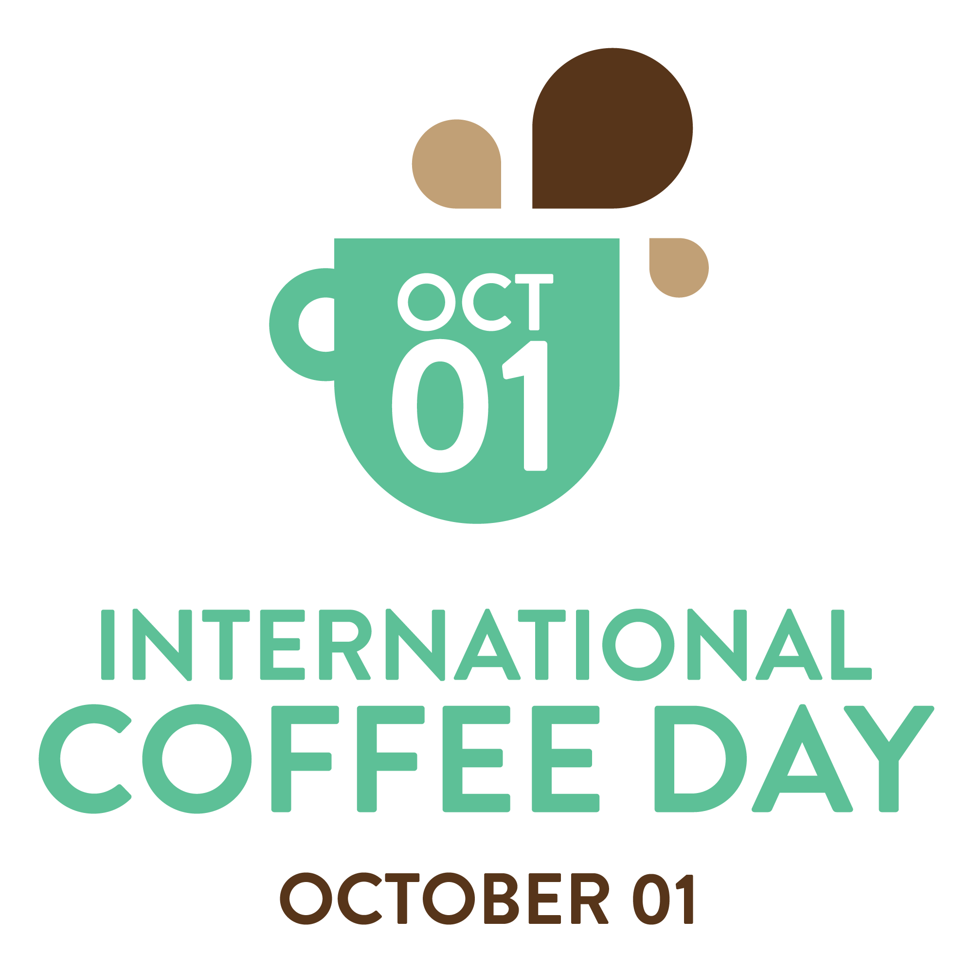 International Coffee Day 1 October Logo