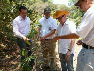 Rob�rio Oliveira Silva in El Salvador